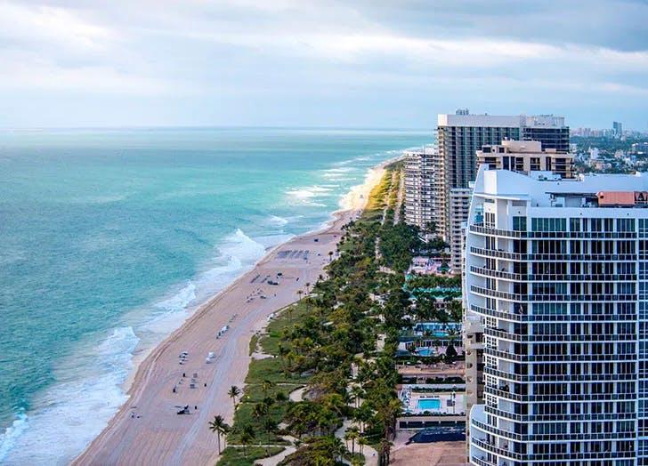 Bal Harbour best beach town in Florida