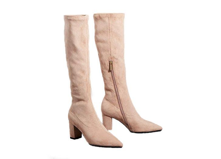Best High Knee Boots Silent D
