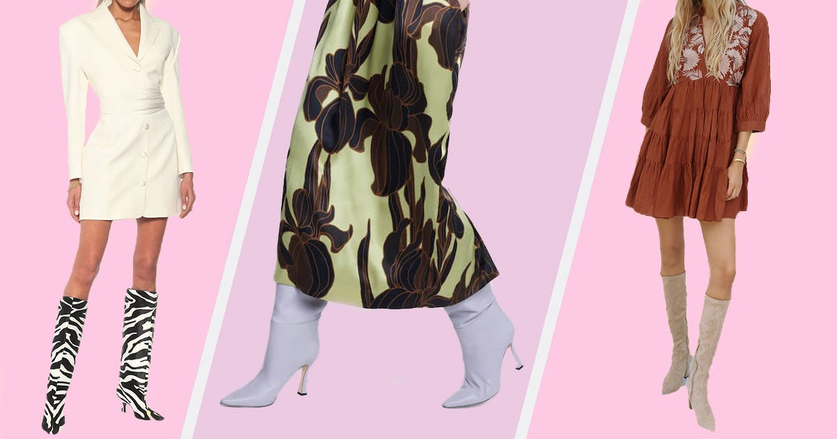 We Found the Best Knee-High Boots for Spring, Starting at Just $41