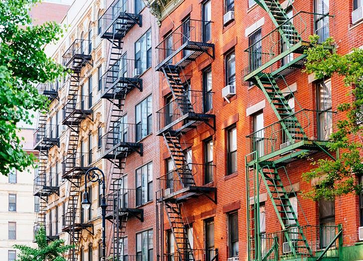 NYC apartment TikTok trend