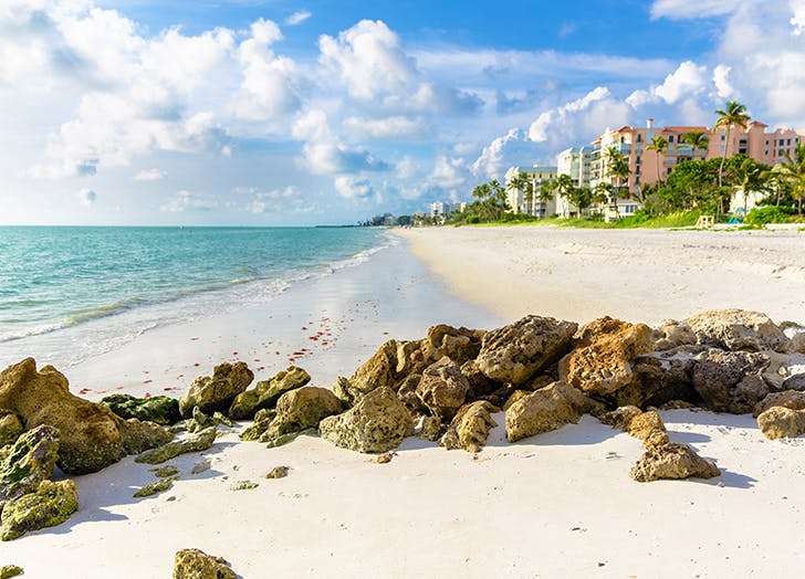 Naples best beach towns in florida