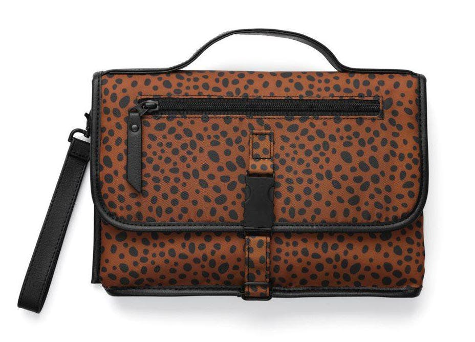 best baby shower gifts leopard changing clutch