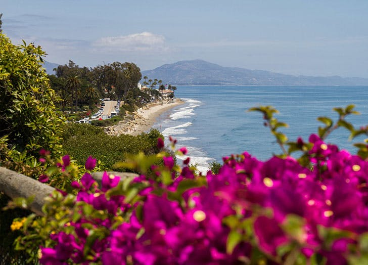 best beach towns in southern california butterfly beach montecito