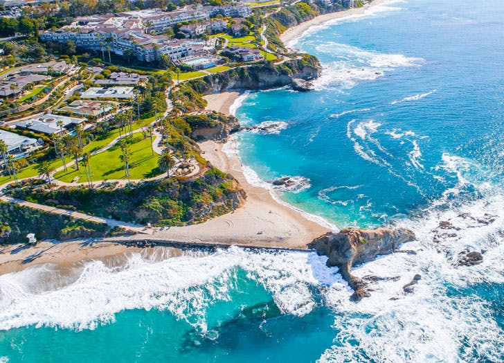 best beach towns in southern california cat