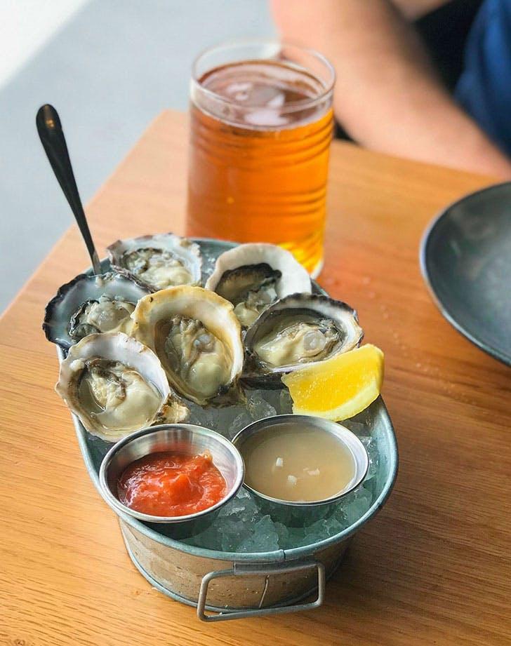 best outdoor brunch in miami stilsville fish bar