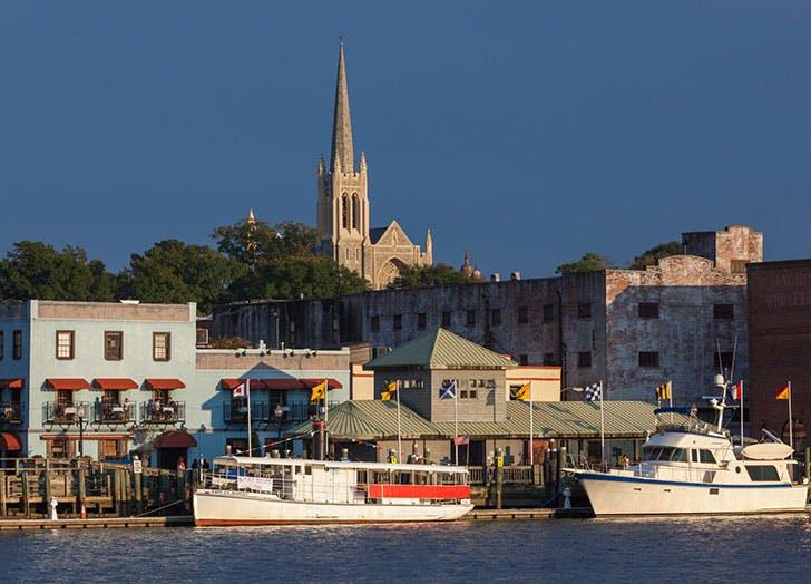 best romantic towns wilmington