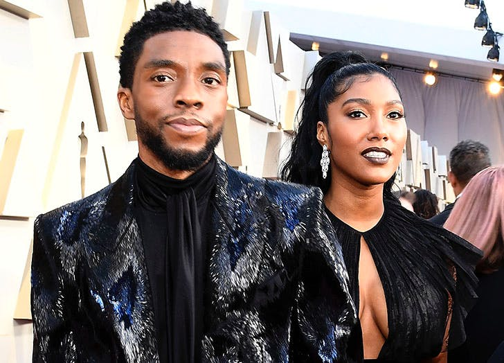 chadwick boseman wife cat