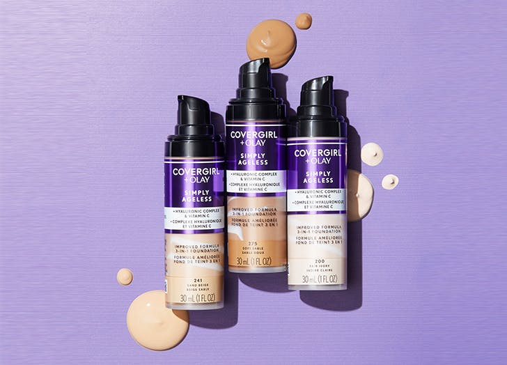 covergirl simply ageless 3 in 1 liquid foundation