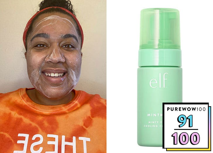 elf cosmetics mint collection review cleanser