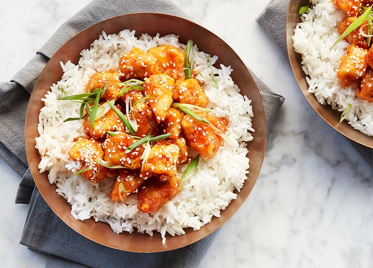 firecracker chicken with rice recipe CAT