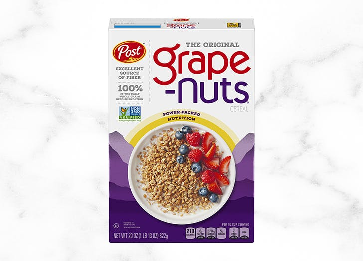 healthiest cereal grape nuts