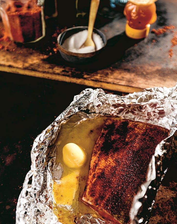 Rodney Scott's Honey-Butter Fish