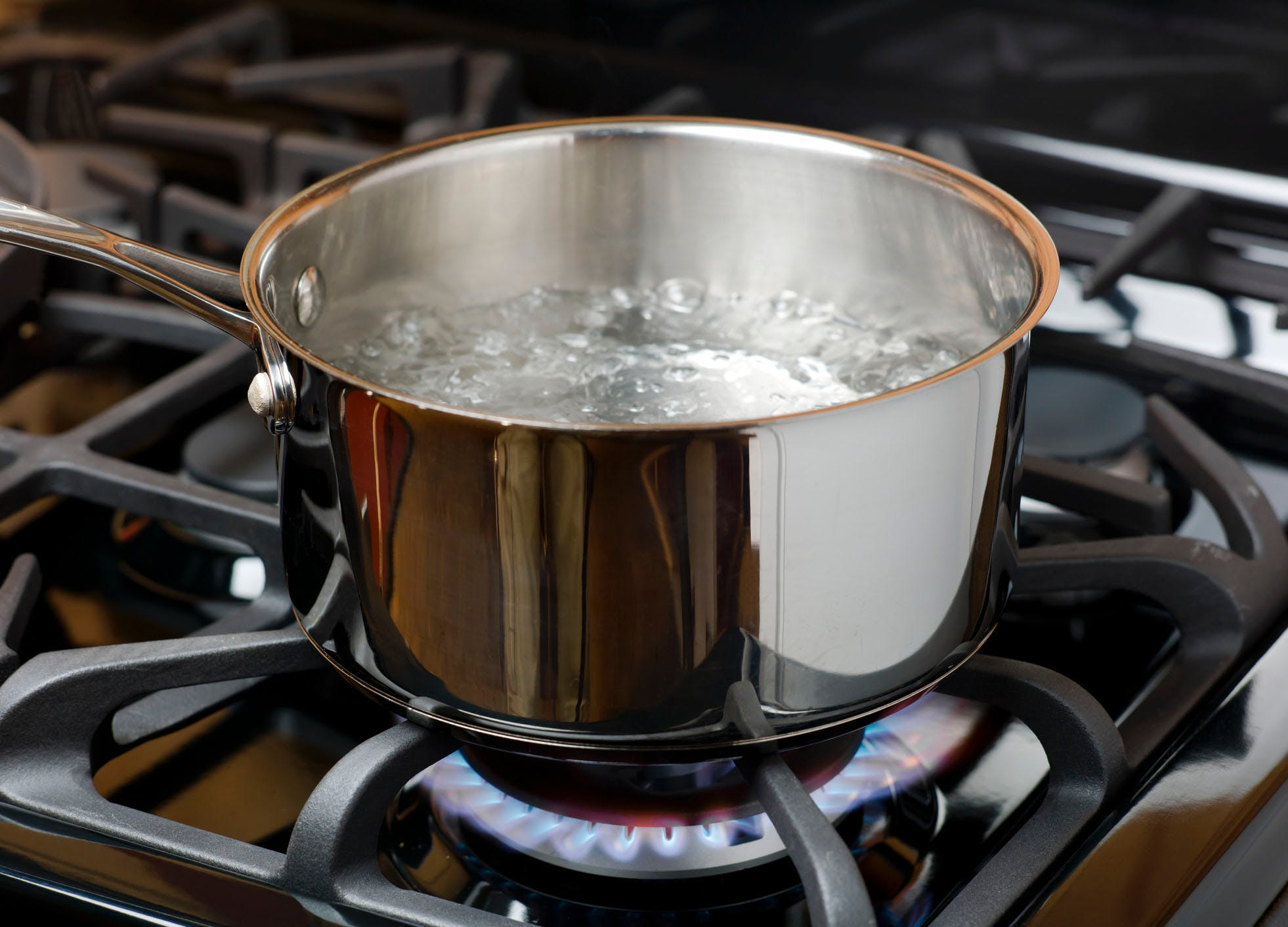 how to clean a burnt pot boiling method
