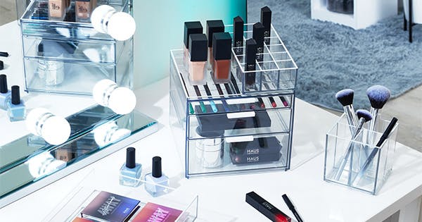 Lady Gaga's Makeup Artist Just Launched a Collection of Beauty Organizers on Amazon