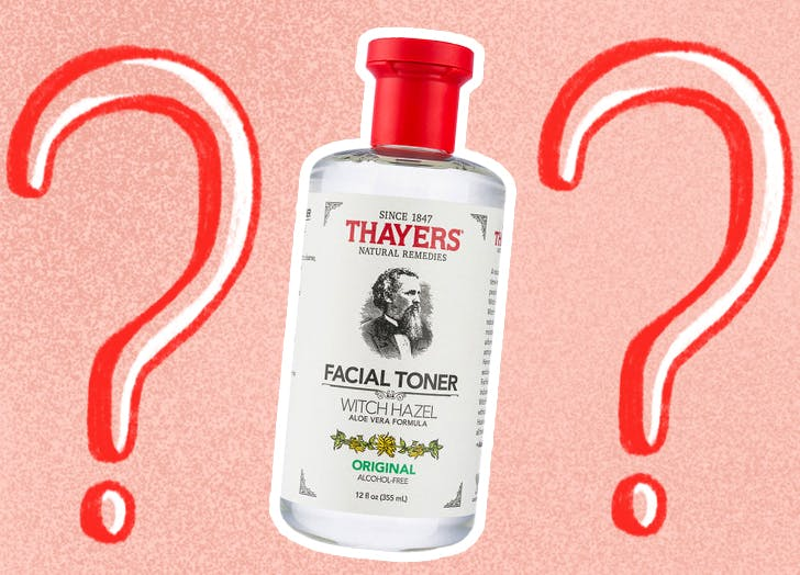 is witch hazel bad for your skin