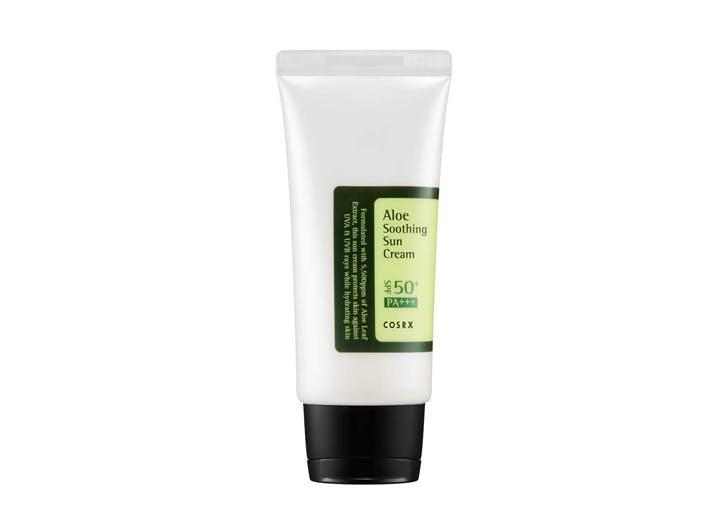 korean sunscreen CosRx Aloe Soothing Sun Cream SPF 50  PA
