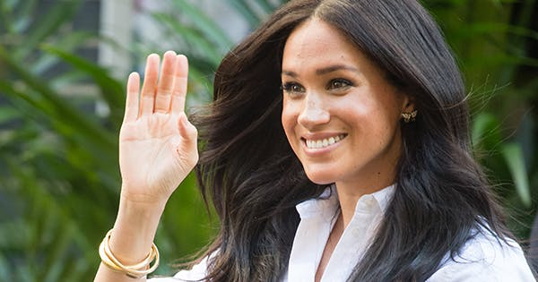 Meghan Markle Opted for a Gorgeous $4,700 Armani Silk Dress for Her Oprah Interview