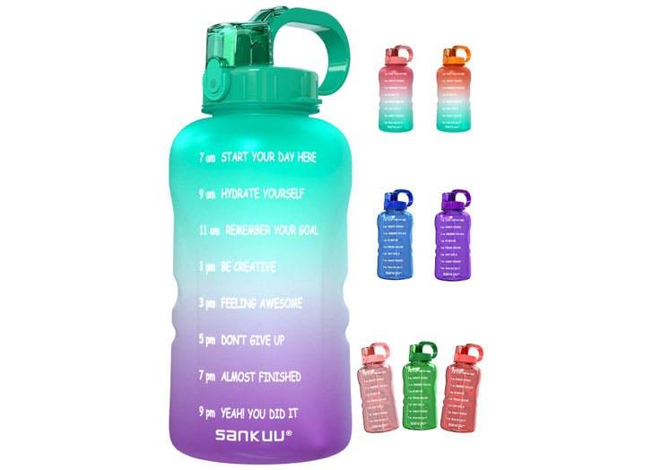 motivational water bottles sankuu