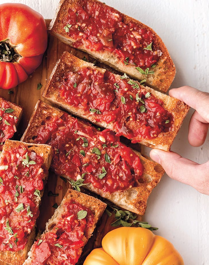 Heirloom Pan con Tomate