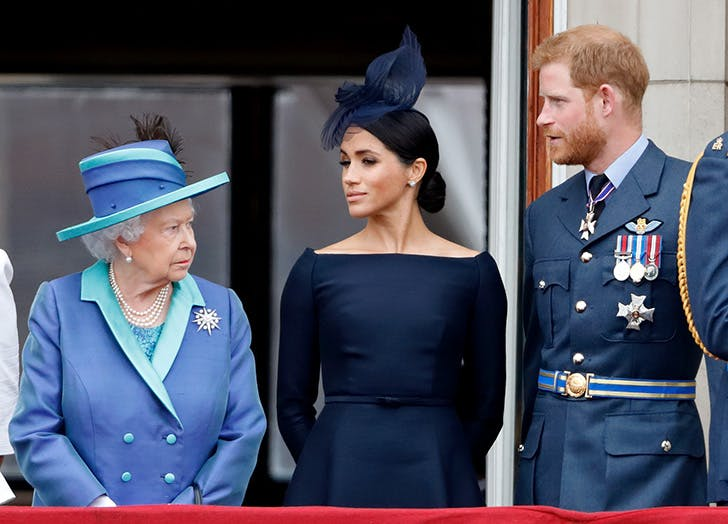Queen Elizabeth Just Responded to Prince Harry & Meghan Markle's Claims