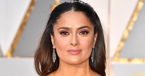 Salma Hayek Takes After J.Lo & Shares Rare Bathing Suit Photo on IG