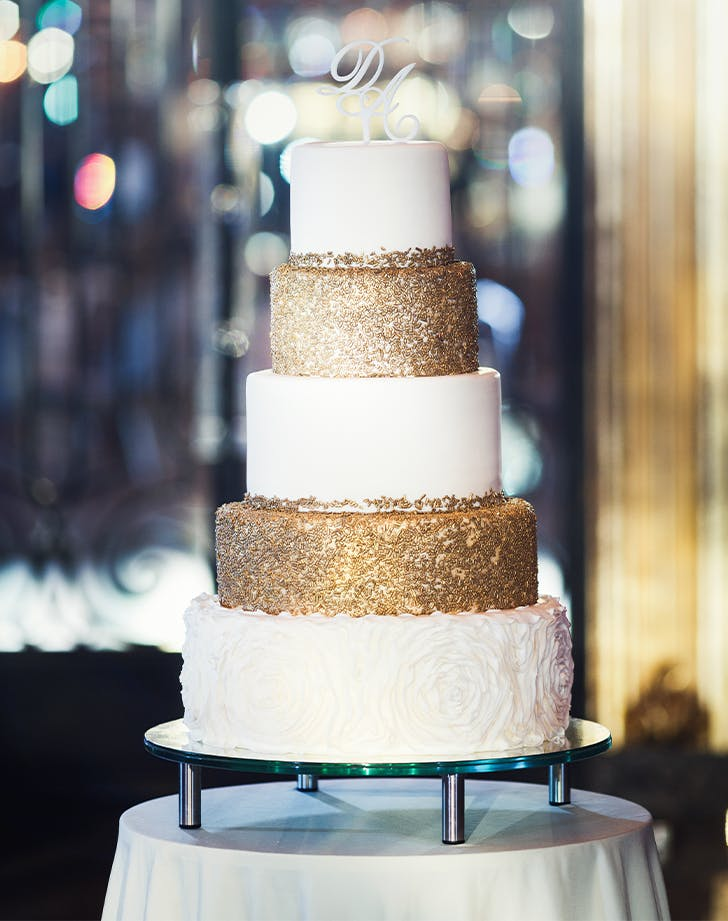 35 Simple Wedding Cakes Purewow