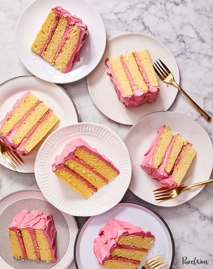 spring desserts easy lemon hibiscus cake recipe