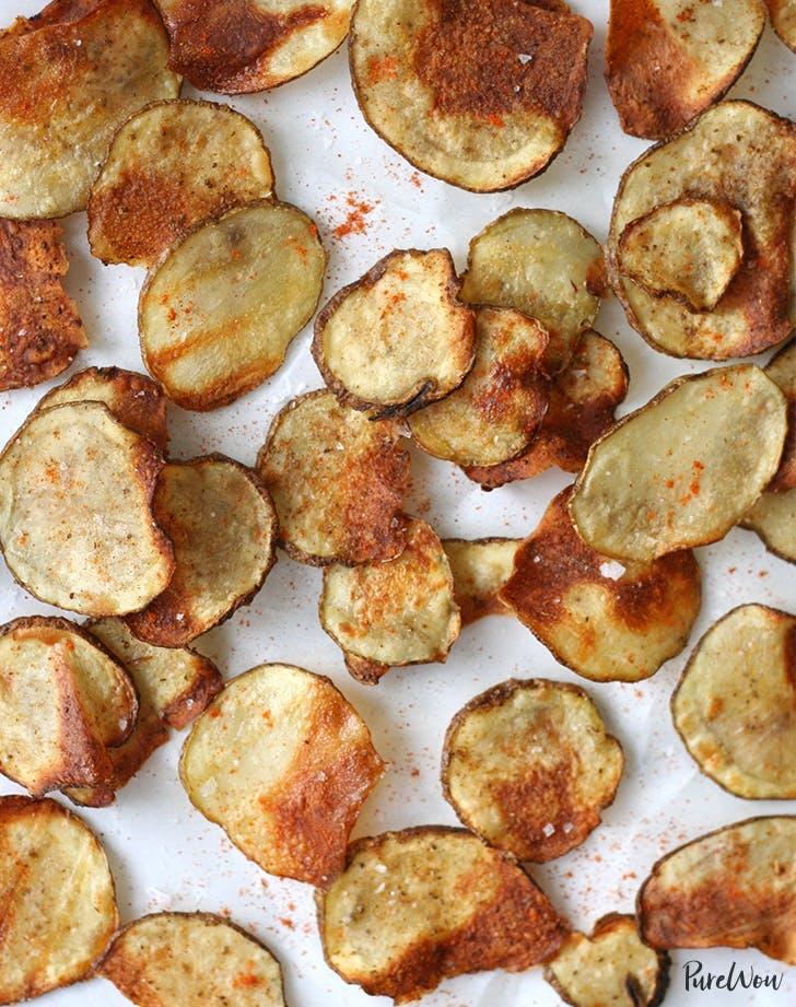 summer appetizers Homemade Potato Chips Recipe