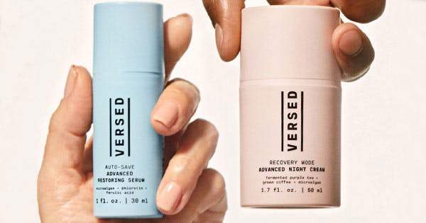 Everyone's Favorite Drugstore Brand, Versed, Just Dropped 2 New Anti-Aging Products
