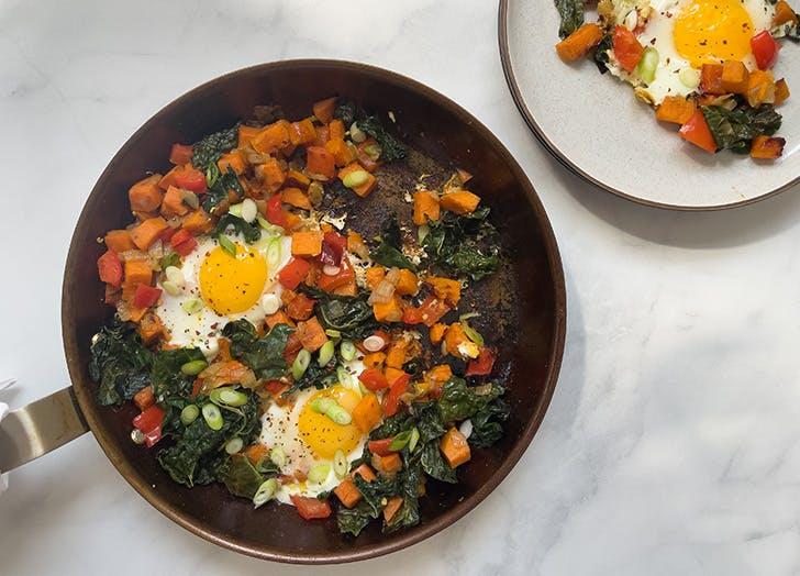 30 minute breakfast hash recipe CAT