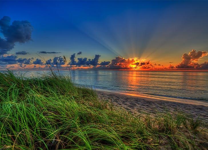 Miami Secret Beaches John D. MacArthur
