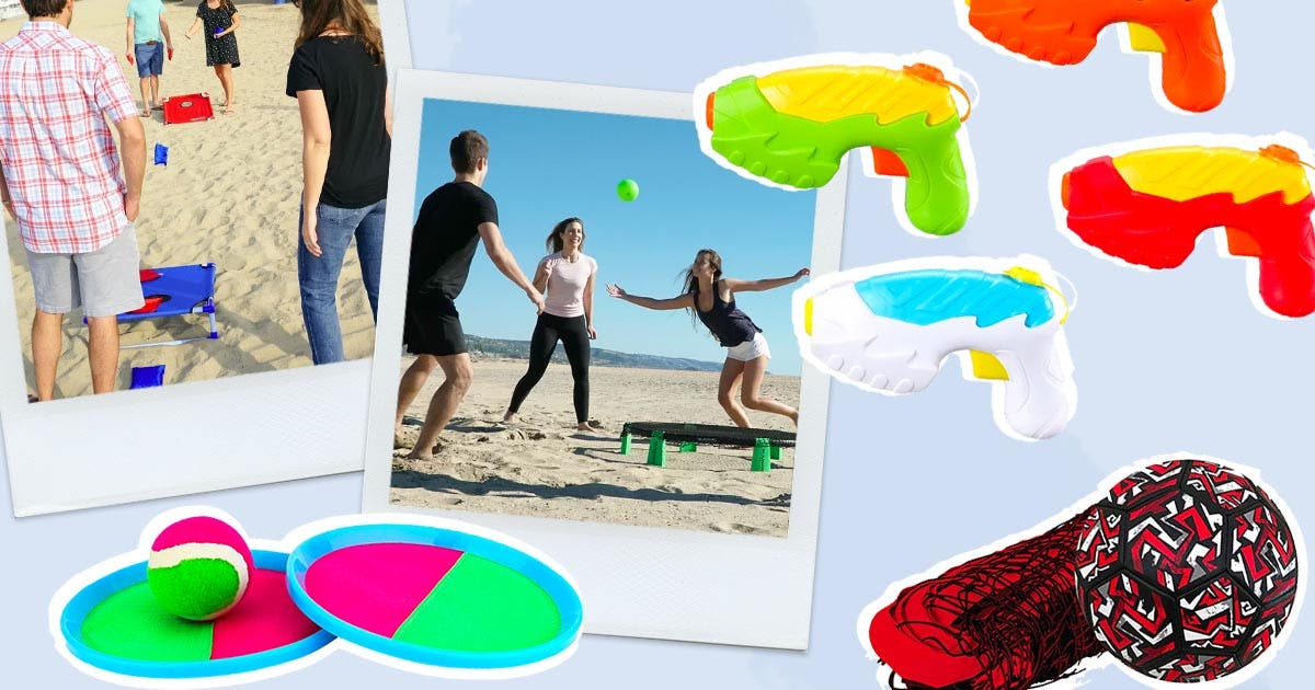 10 Beach Games to Tote Along for Maximum Fun with Minimum Hassle