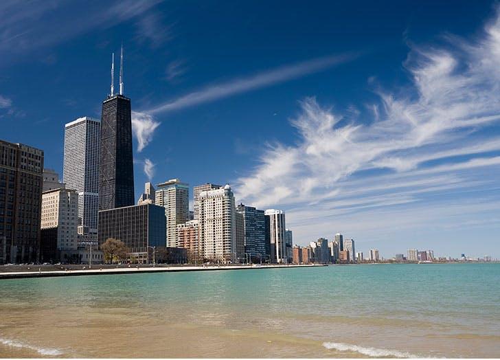 best beaches in chicago cat