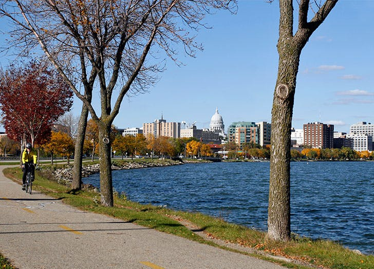 best college towns in america madison wi