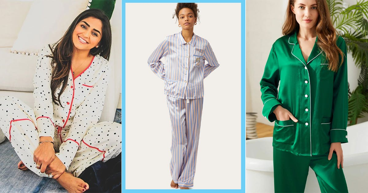 The 16 Best Silk Pajama Sets to Make Bedtime Feel as Luxurious as Possible