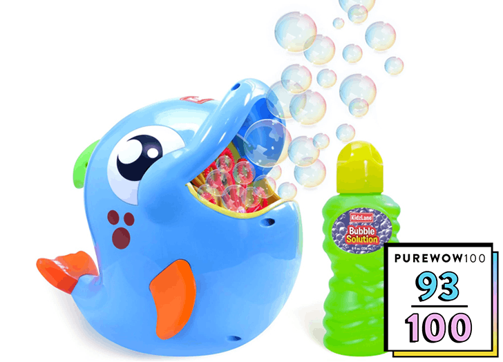 This $25 Bubble Machine Comes With Serious Bubble Power (and Won't Break After the First Use)