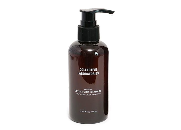 best natural dandruff shampoo Collective Laboratories Detoxifying Shampoo