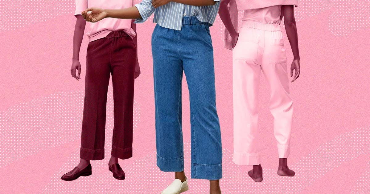 Everlane's New Easy Jean is the Perfect Post-Sweatpants Trouser...and It's Under $75
