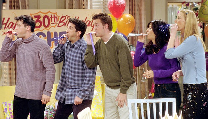 friends mistakes show