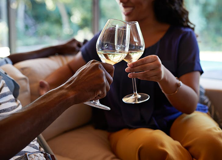 The 'Half Glass of Wine' Marriage Trick Cut Fights (& Poor Communication) in Half