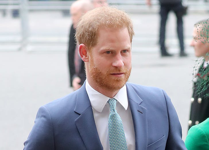 Prince Harry Has Officially Touched Down in the U.K.