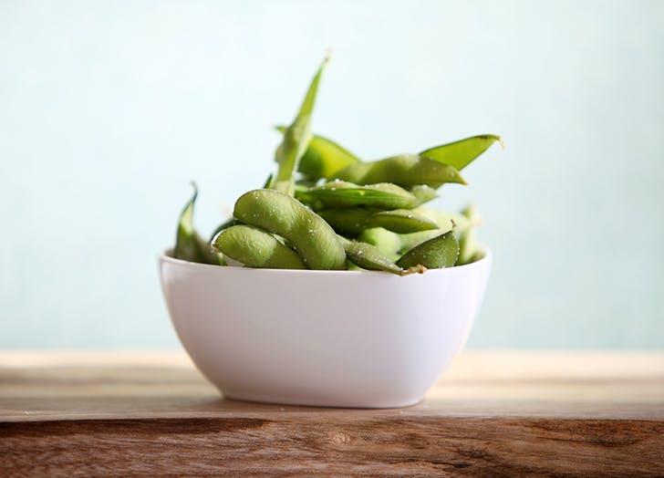 high protein vegetables edamame
