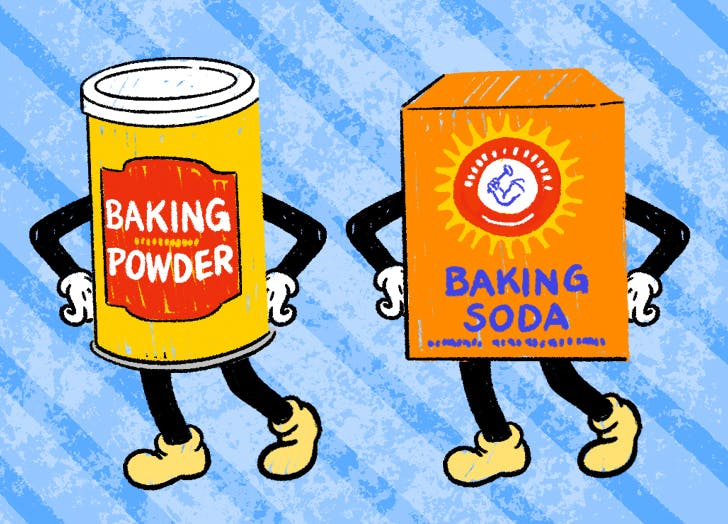 Is Baking Soda the Same as Baking Powder (and Can You Substitute One for the Other)?