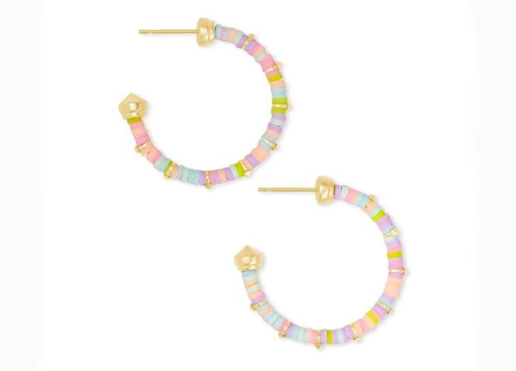 kenda scott earrings colorful beaded jewelry trend