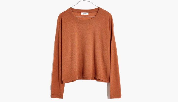 madewell sale cashmere