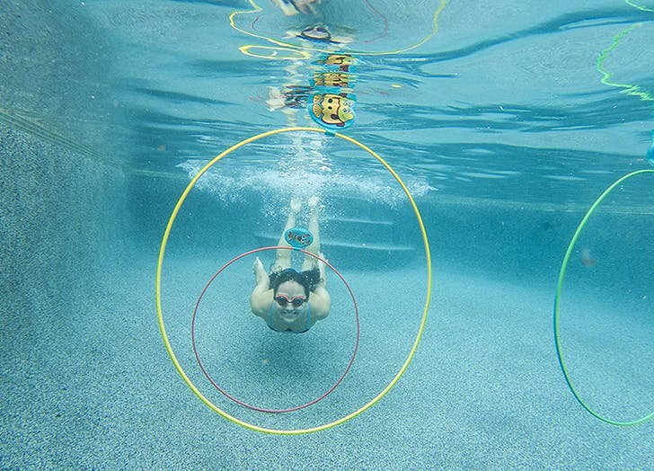 pool games for kids water sports rings