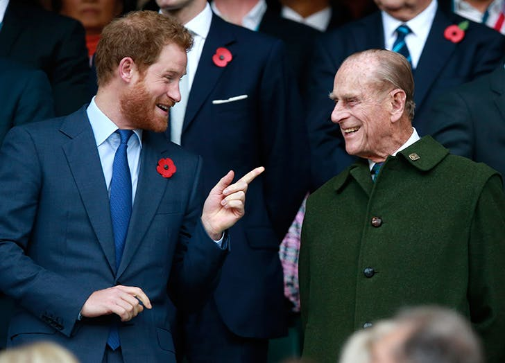 Prince Harry May Not Be Allowed to Salute at Grandfather Prince Philip's Funeral