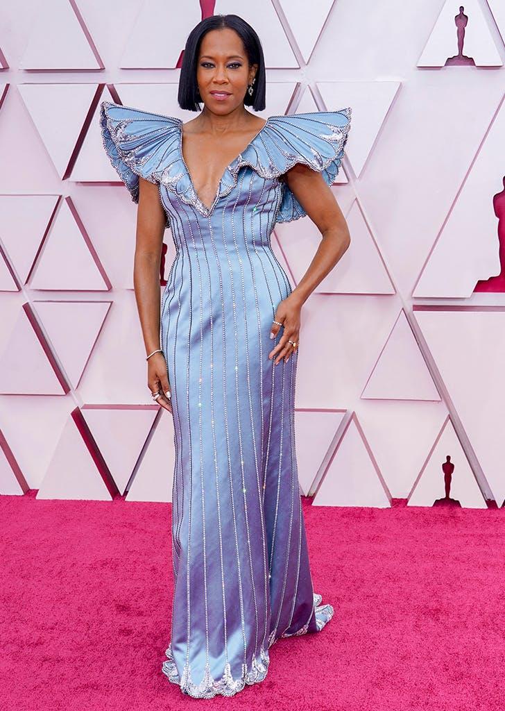 regina king oscars butterfly