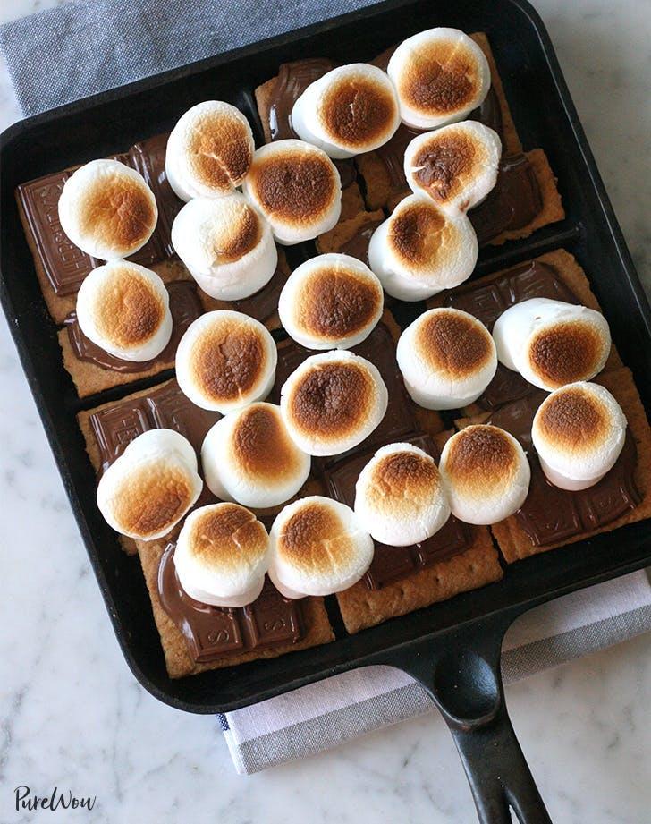 s mores recipes Broiler Smores Recipe