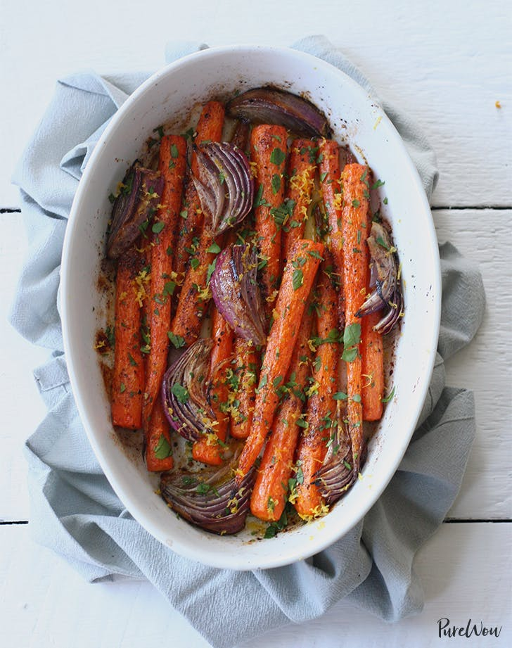 side dishes for lamb Whole Roasted Carrots Cumin Recipe